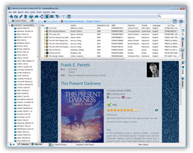 The Book Collector Home Library Database Software in List View. Click for more screenshots.