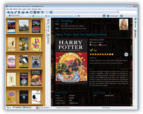 The Book Collector Book Organizing Software in Images View. Click for more screenshots.