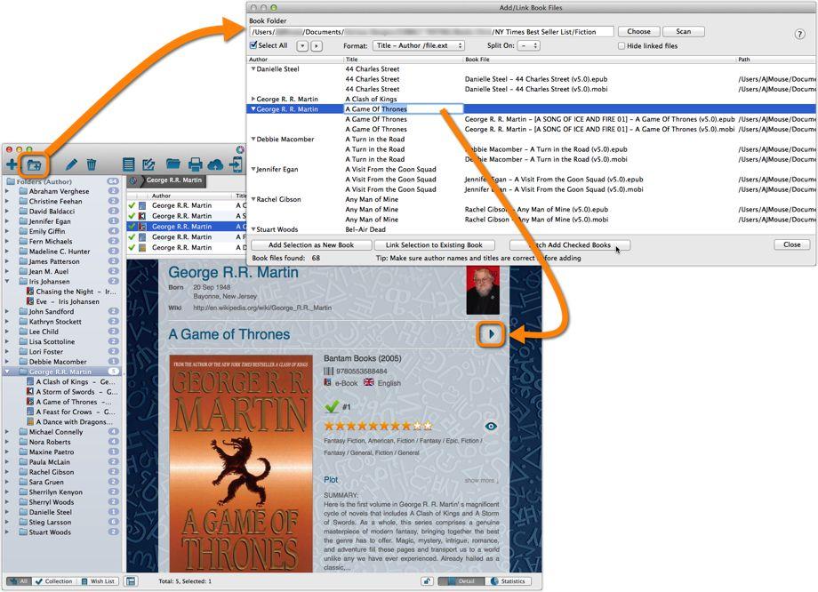 Link e-Book Files