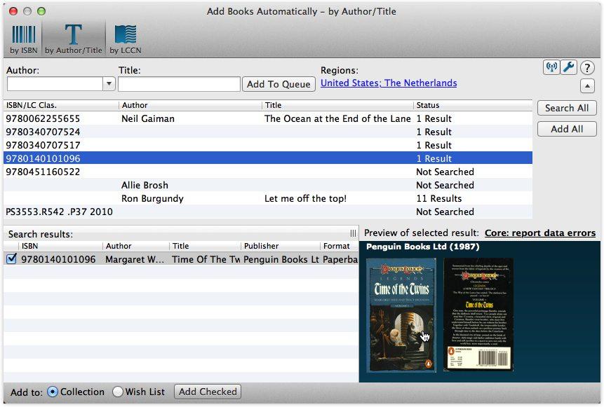 Add Books Automatically