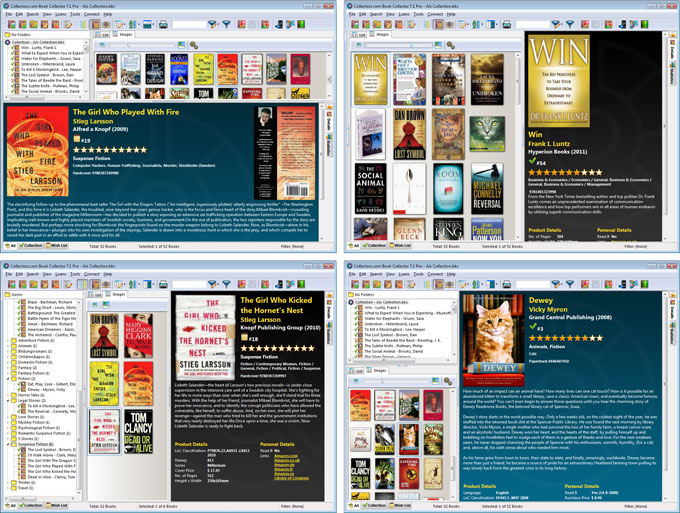 Click to view Collectorz.com Book Collector 8.1.1 screenshot