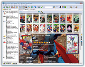 The Comic Collector Comic Book Cataloging Software in Images View. Click for more screenshots.