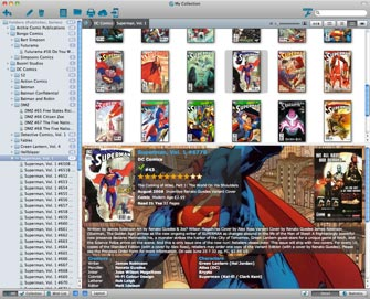 Main screen in Publisher and Series folders / Images View