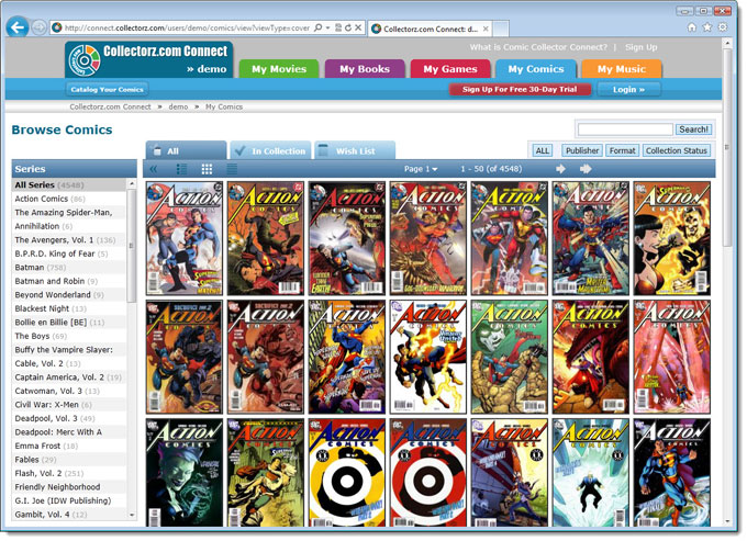 Comic Collector Connect