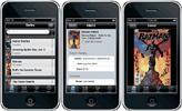 Clz Comics companion app for iPhone and iPod Touch
