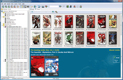 Comic Collector Main Screen: Create A Personal Comic Book Database With Comic Collector