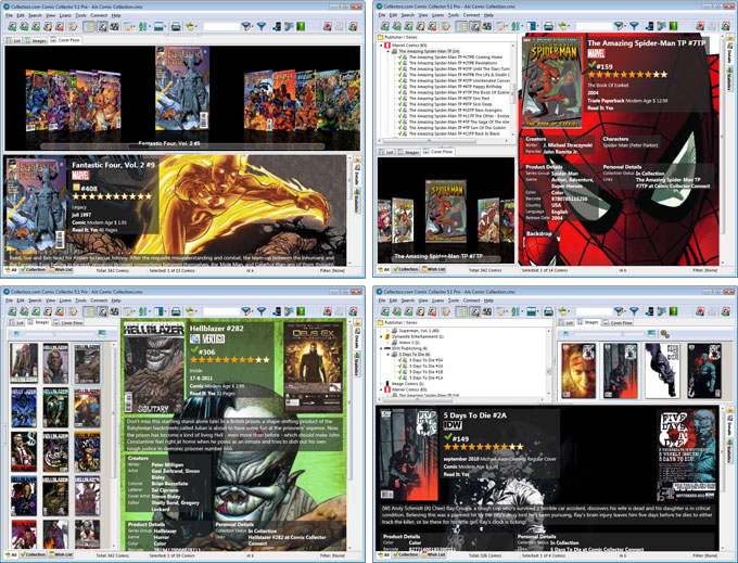 Click to view Collectorz.com Comic Collector 5.2.1 screenshot