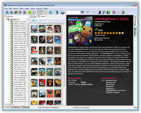 The Game Collector Video Game Cataloging Software in Images View. Click for more screenshots.