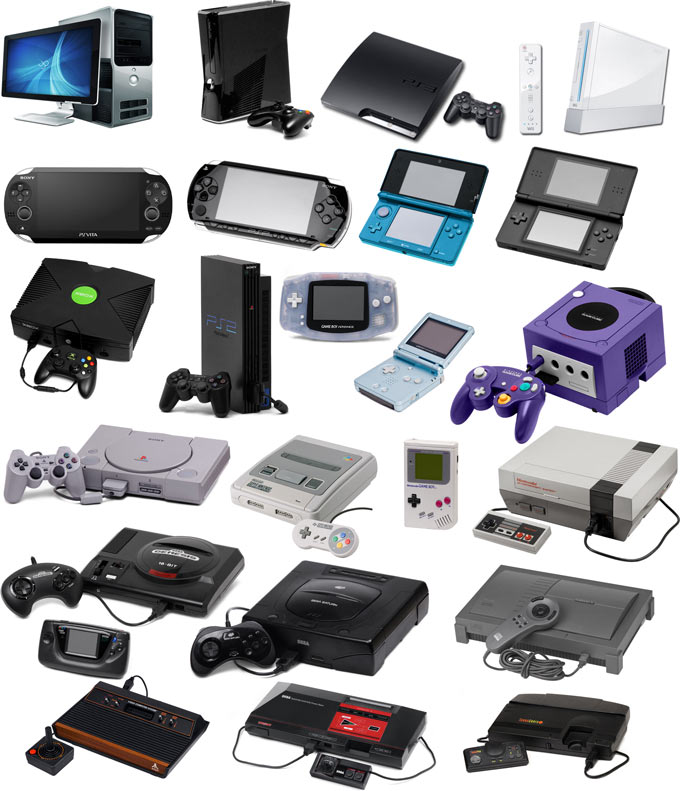 video game consoles - photo #12