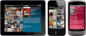 Export your game collection to iPhone, iPad or Android