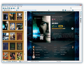 The Movie Collector Movie Organizing Software in Images View. Click for more screenshots.