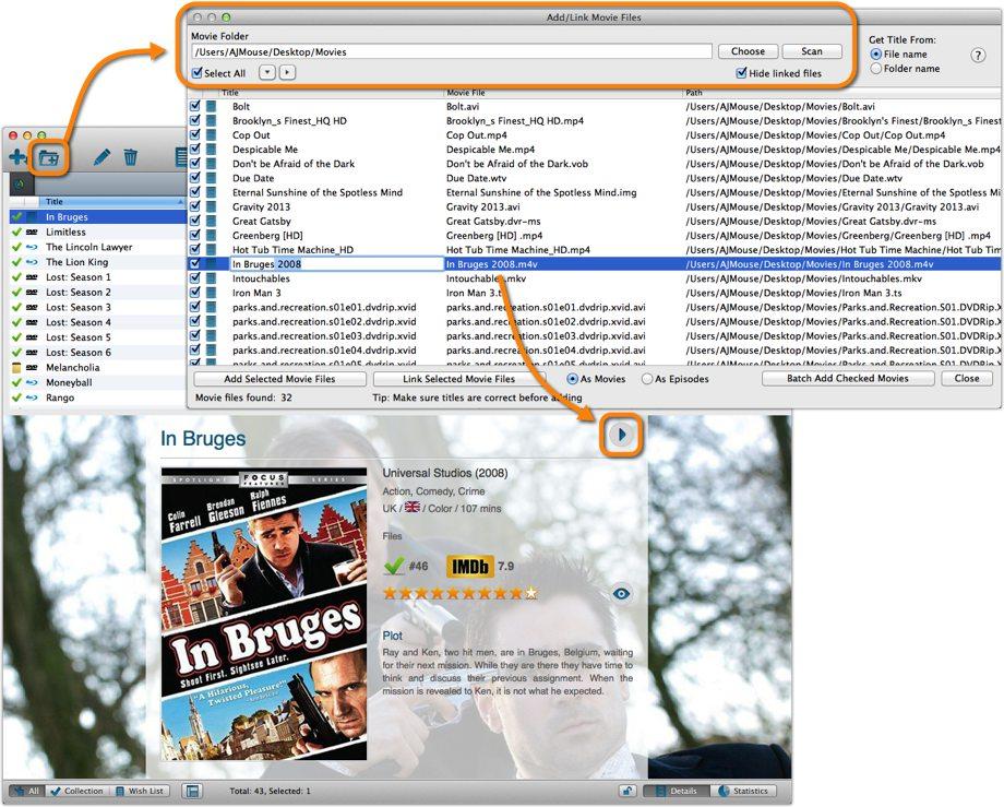 Link Movie Files