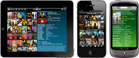 Export your movie collection to iPhone, iPad or Android