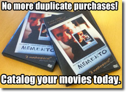 No more duplicates: Catalog your movies now