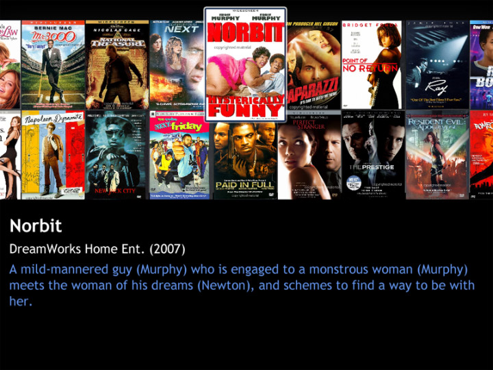 Movie Collector MCE for Vista/Windows 7 Media Center