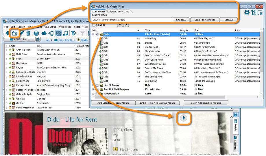 Music Database Software For Cataloging And Organizing Cds