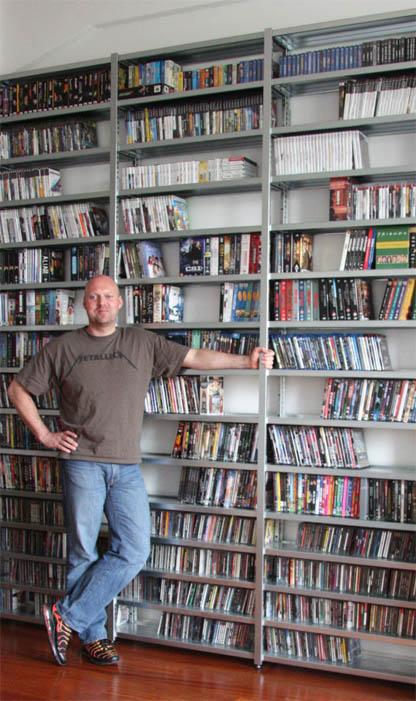 Collectorz.com Gründer Alwin Hoogerdijk und seine Sammlung