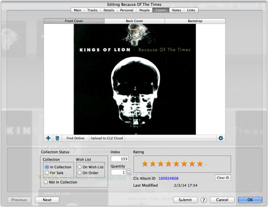 Edit Album