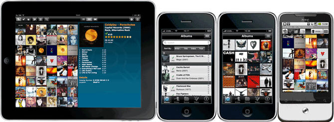 Browse your music collection on your iPhone / iPod touch