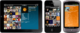 Export your music collection to iPhone, iPad or Android